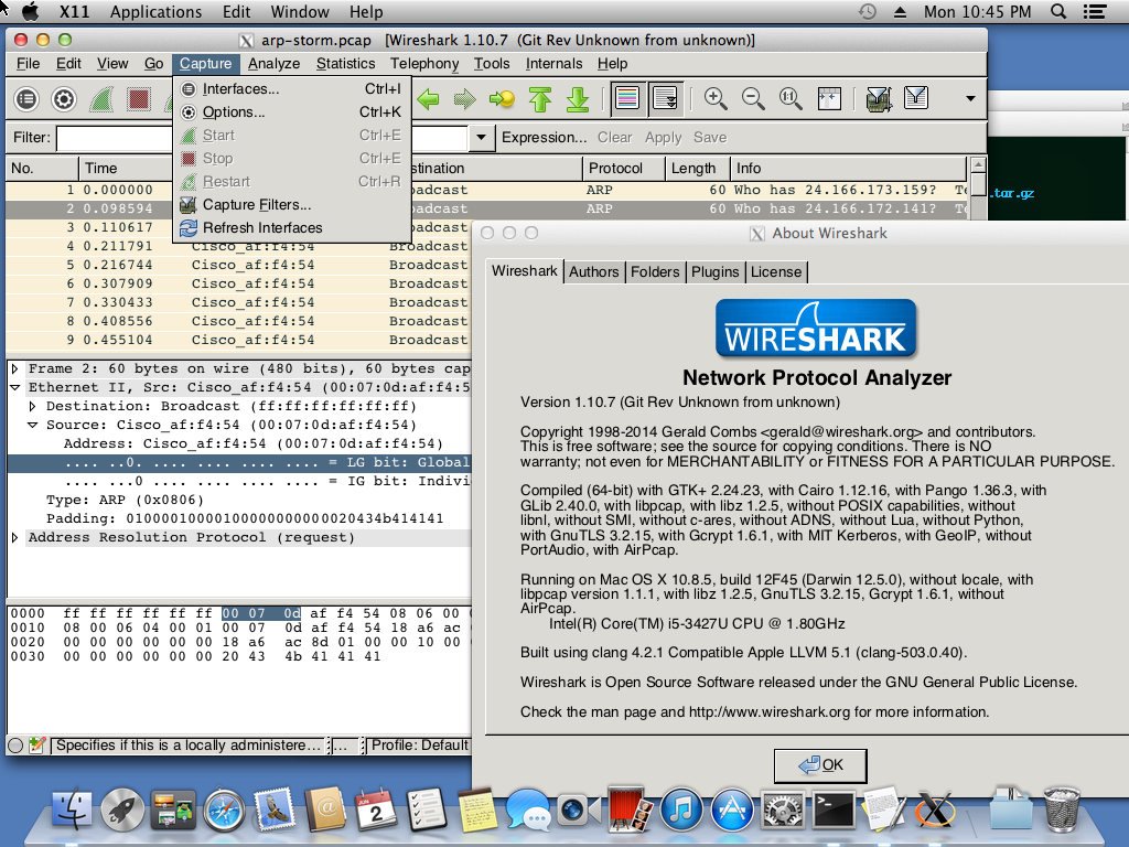 Wireshark-gtk2