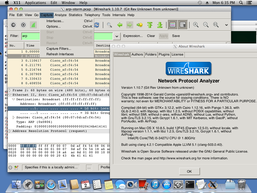 Wireshark-gtk3